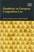 Cover of Handbook on European Competition Law Set