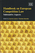 Cover of Handbook On European Competition Law: Substantive Aspects
