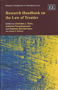 Cover of Research Handbook on the Law of Treaties