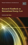 Cover of Research Handbook on International Energy Law