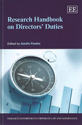 Cover of Research Handbook on Directors' Duties