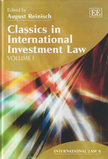 Cover of Classics in International Investment Law