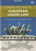 Cover of Edward and Lane on European Union Law