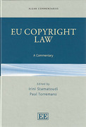 Cover of EU Copyright Law: A Commentary