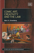 Cover of Comic Art, Creativity and the Law