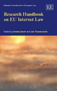 Cover of Research Handbook on EU Internet Law