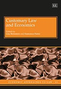 Cover of Customary Law and Economics