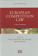 Cover of European Competition Law: A Case Commentary
