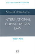 Cover of Advanced Introduction to International Humanitarian Law