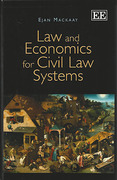 Cover of Law and Economics for Civil Law Systems