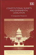 Cover of Constitutional Sunsets and Experimental Legislation: A Comparative Perspective