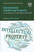 Cover of International Intellectual Property: A Handbook of Contemporary Research