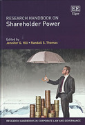 Cover of Research Handbook on Shareholder Power