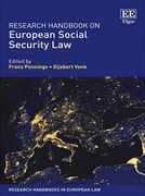 Cover of Research Handbook on European Social Security Law