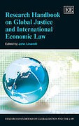 Cover of Research Handbook on Global Justice and International Economic Law