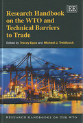 Cover of Research Handbook on the WTO and Technical Barriers to Trade