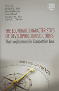 Cover of Economic Characteristics of Developing Jurisdictions: Their Implications for Competition Law