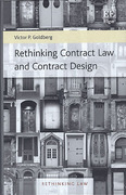 Cover of Rethinking Contract Law and Contract Design