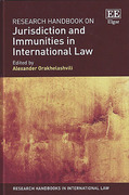 Cover of Research Handbook on Jurisdiction and Immunities in International Law