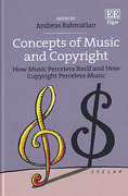 Cover of Concepts of Music and Copyright: How Music Perceives Itself and How Copyright Perceives Music