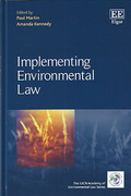 Cover of Implementing Environmental Law