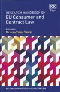 Cover of Research Handbook on EU Consumer and Contract Law