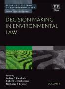 Cover of Elgar Encyclopedia of Environmental Law Volume II: Decision Making in Environmental Law
