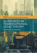 Cover of Authority in Transnational Legal Theory: Theorising Across Disciplines