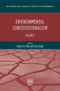 Cover of Environmental Constitutionalism
