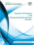 Cover of Transfer of Property and Private International Law