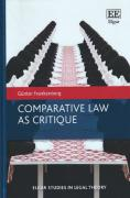 Cover of Comparative Law as Critique
