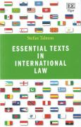 Cover of Essential Texts in International Law