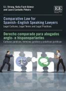 Cover of Comparative Law for Spanish-English Lawyers: Legal Cultures, Legal Terms and Legal Practices