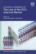 Cover of Research Handbook on the Law of the EU's Internal Market