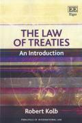 Cover of The Law of Treaties: An Introduction