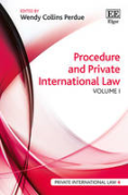 Cover of Procedure and Private International Law