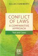 Cover of Conflict of LawsA Comparative Approach - Text and Cases