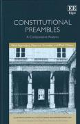 Cover of Constitutional Preambles: A Comparative Analysis