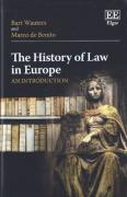Cover of The History of Law in Europe: An Introduction