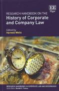 Cover of Research Handbook on the History of Corporate and Company Law