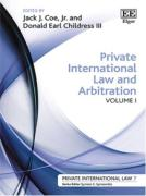 Cover of Private International Law and Arbitration