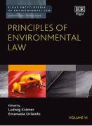 Cover of Principles of Environmental Law