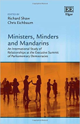 Cover of Ministers, Minders and Mandarins: An International Study of Relationships at the Executive Summit of Parliamentary Democracies