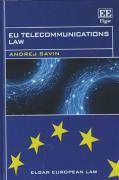 Cover of EU Telecommunications Law