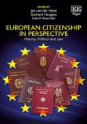 Cover of European Citizenship in Perspective: History, Politics and Law