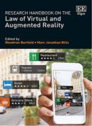 Cover of Research Handbook on the Law of Virtual and Augmented Reality