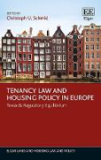 Cover of Tenancy Law and Housing Policy in Europe
