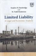 Cover of Limited Liability: A Legal and Economic Analysis