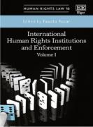 Cover of International Human Rights Institutions and Enforcement