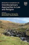 Cover of Research Handbook on Interdisciplinary Approaches to Law and Religion
